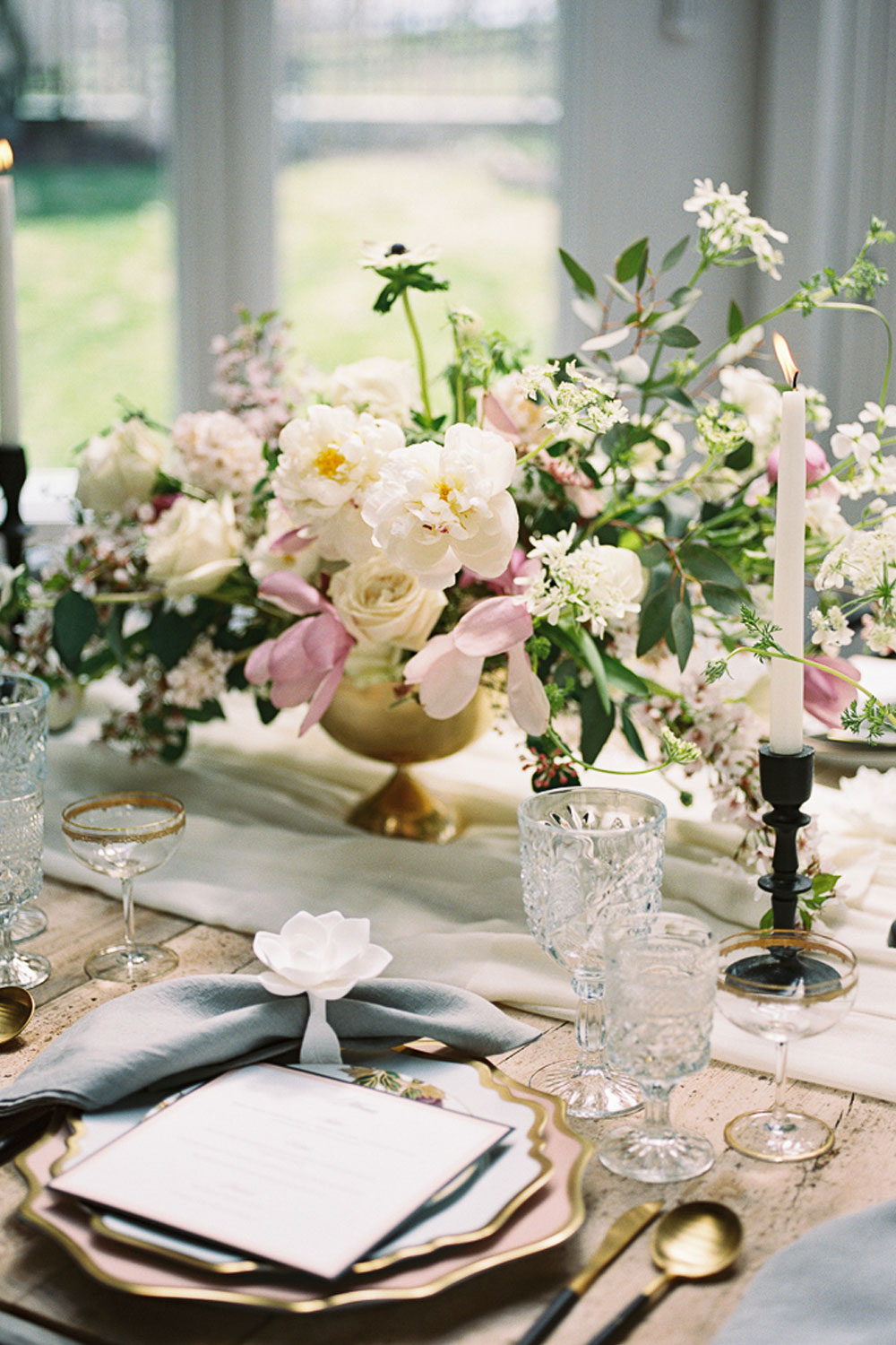 K Bella Events & Styling Tablescape | The Manor at Airmont