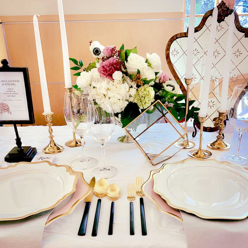 K Bella Events tablescape