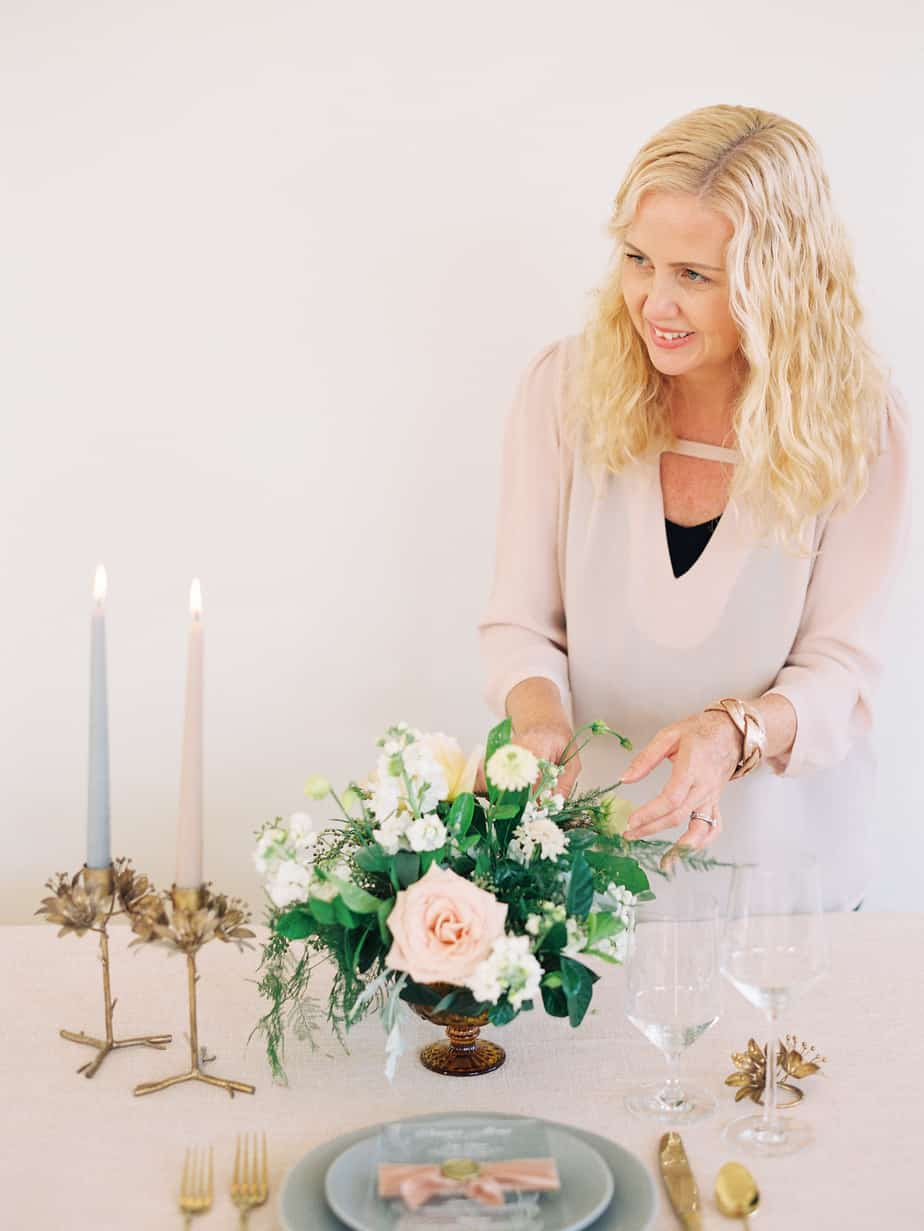 Photo of DC wedding and event designer Krystin Gill